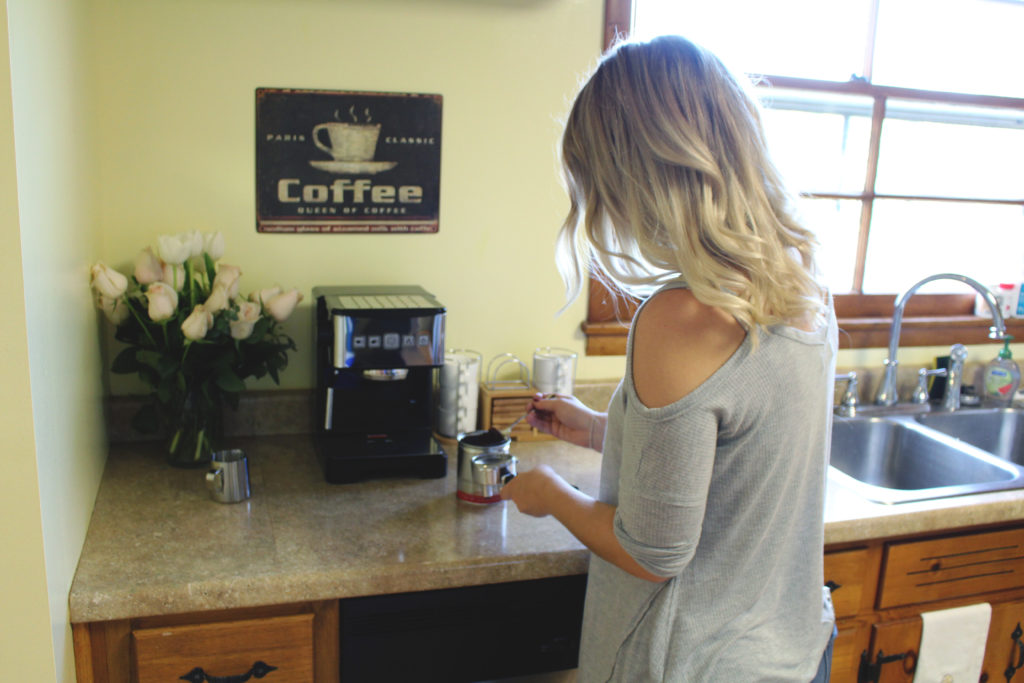 homemade lattes with capresso