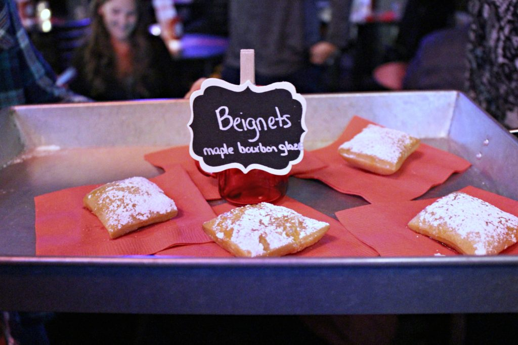 party fowl beignets