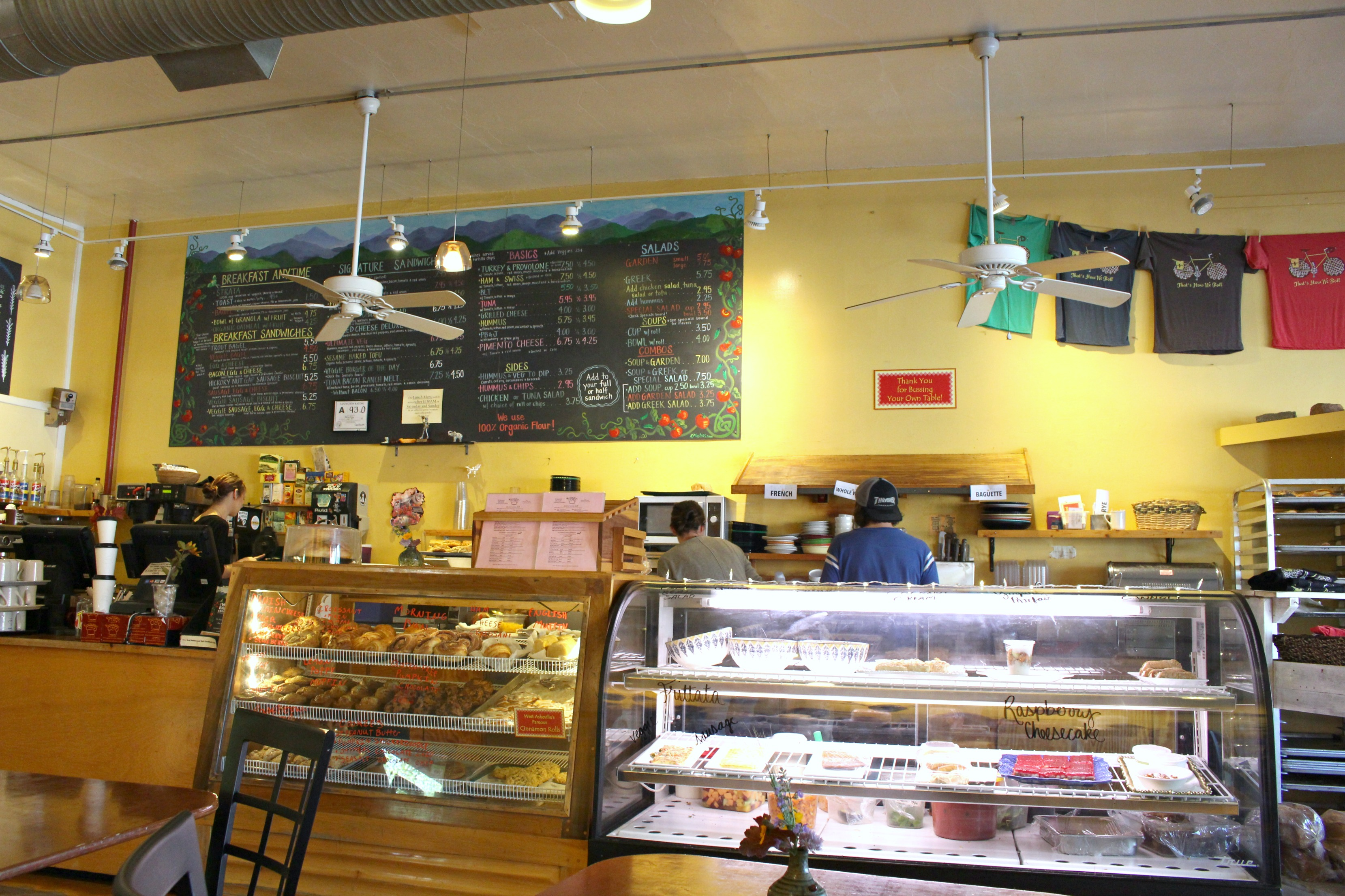 West End Bakery Asheville