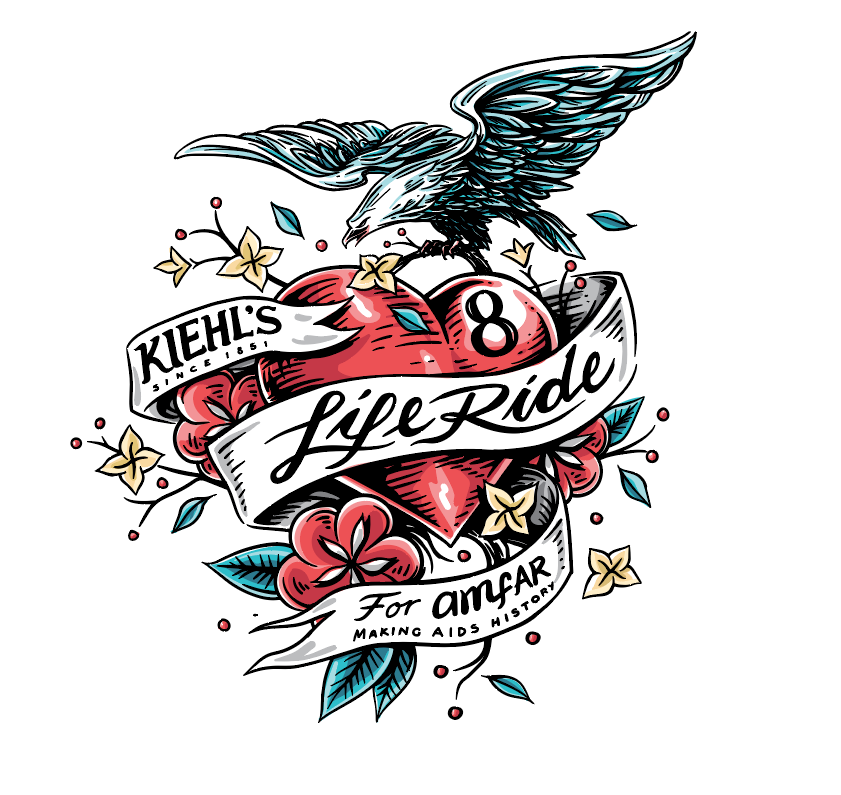 kiehl's liferide for amfar
