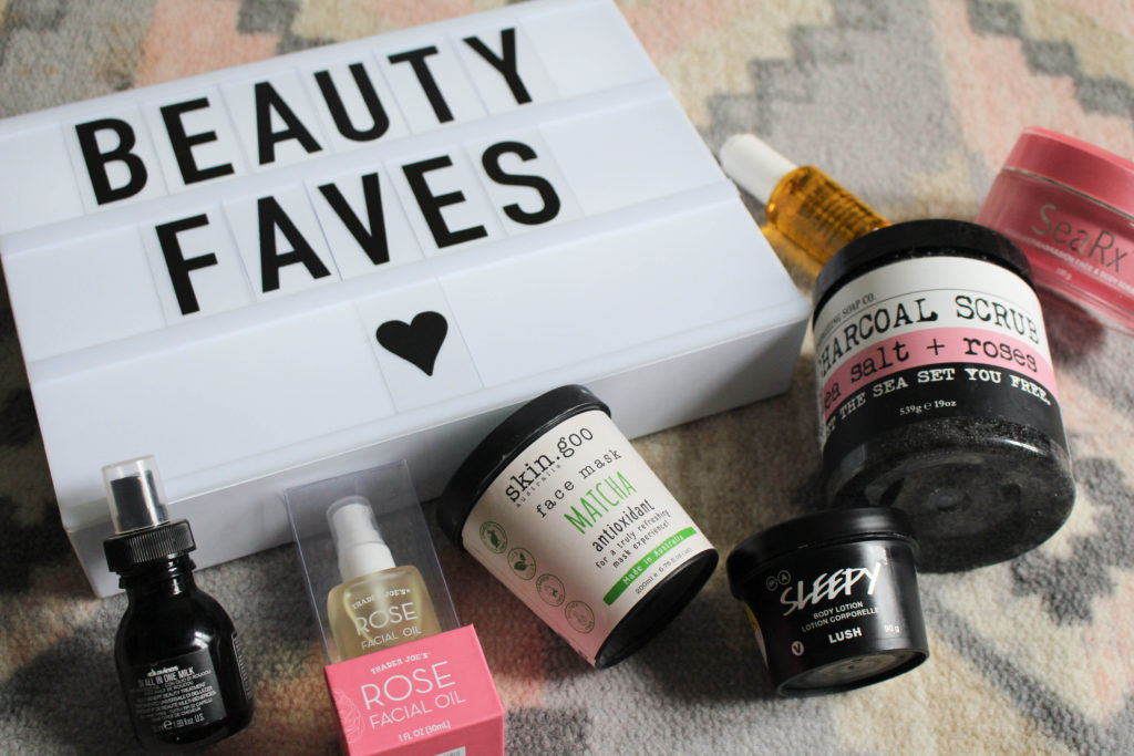 current beauty faves