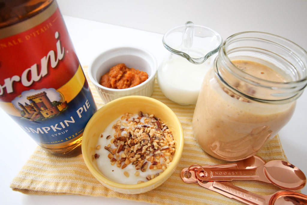 pecan pumpkin pie smoothie