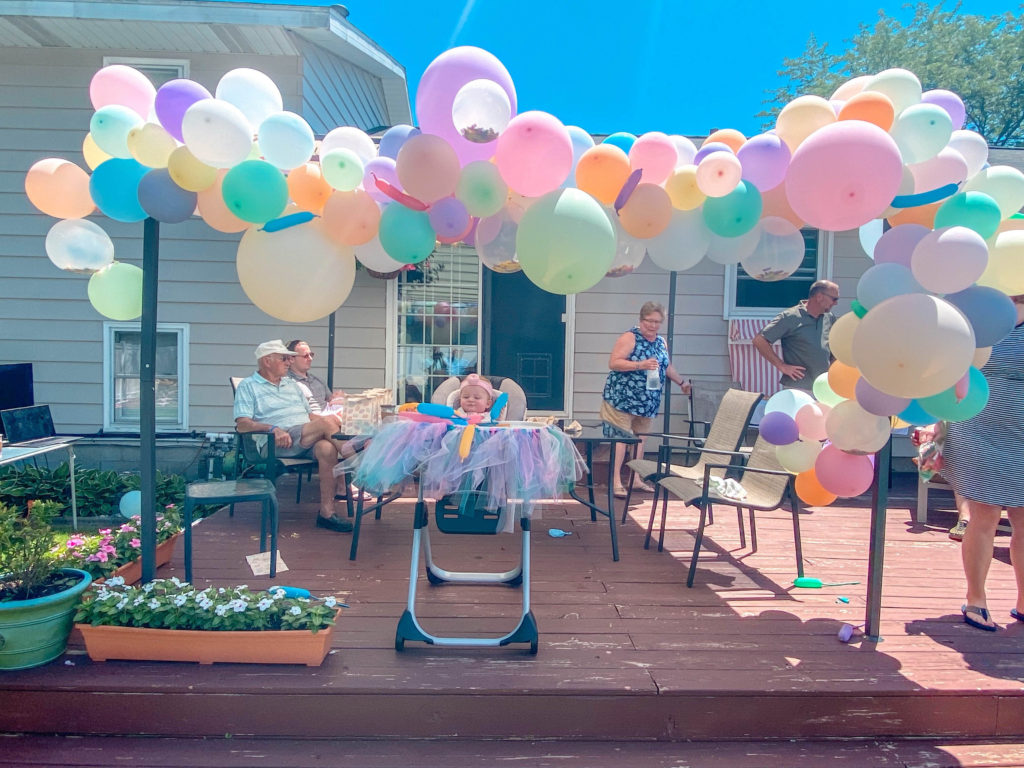 DIY Pastel Balloon Arch